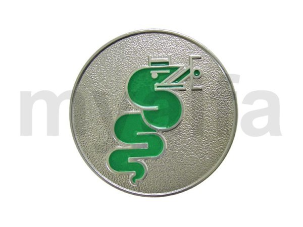 BADGE SNAKE SILVER/GREEN RIGHT