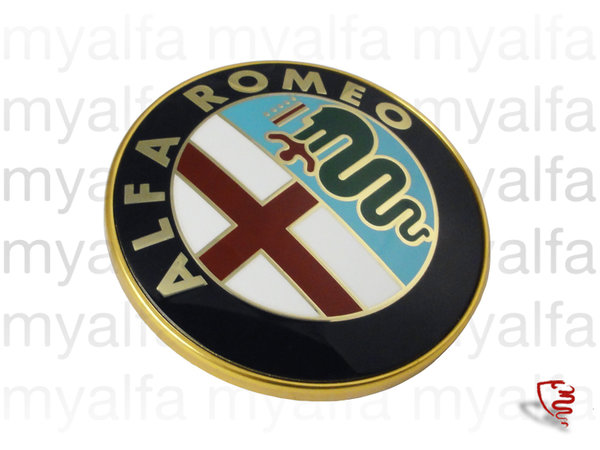 BADGE 75 mm ALFA ROMEO