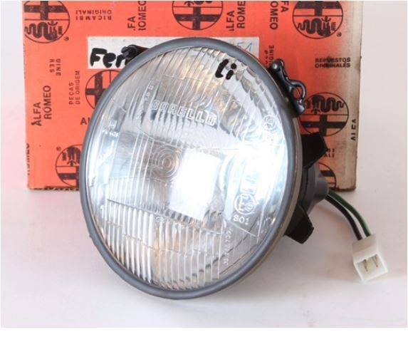 HIGH-BEAM HEADLAMP GTV 116    RIGHT