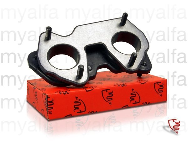 DOUBLE CARBURETTOR RUBBER MOUNT 40 mm PREMIUM QUALITY